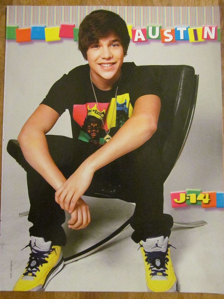 Austin Mahone, Ross Lynch, R5,  Double Full Page Pinup
