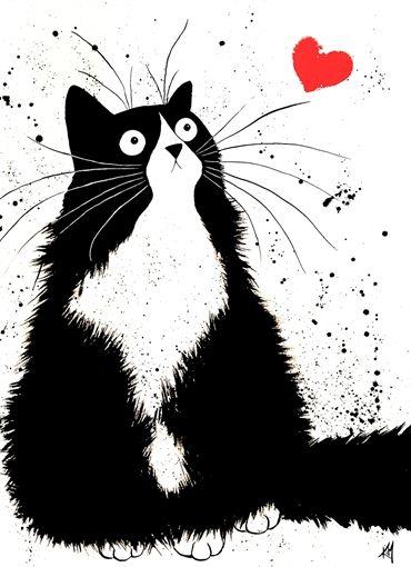 Chat amoureux ❥ڿڰۣ--