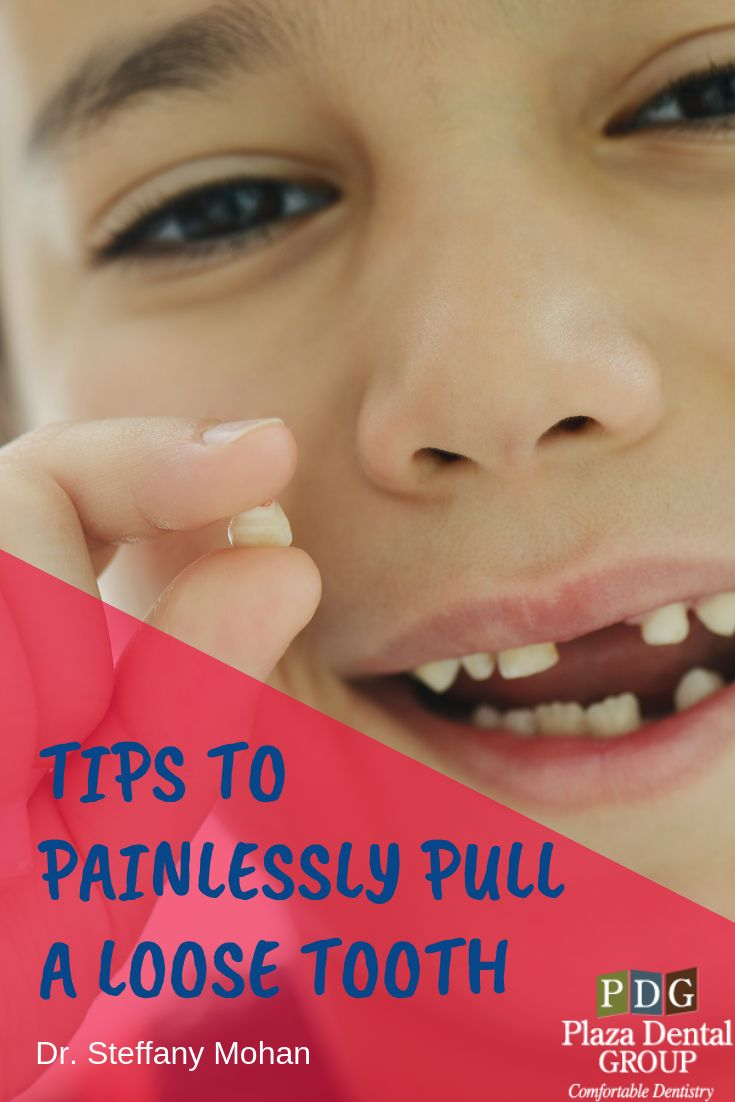 how to pull a tooth at home kid