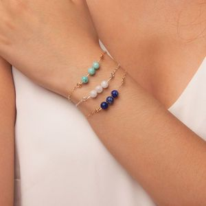 Gemstone Bar Bracelet