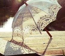 lace vintage umbrella