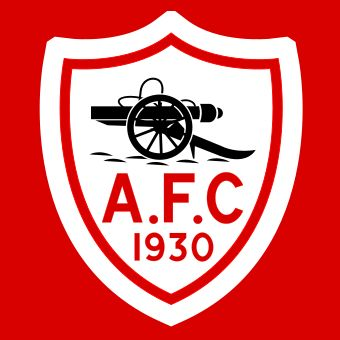 This was the uncopyrighted shirt crest of Arsenal Football Club created especially for the 1930 FA Cup final.