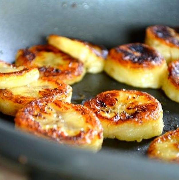 Fried Honey Bananas ~ The Best Recipes In The World
