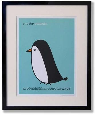 Penguin print from Hunkydory Home