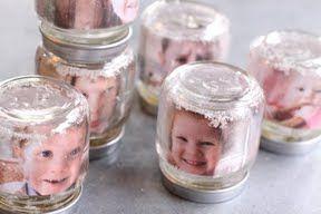 Laminierfolie, Glas, Plastikschnee, entsprechende Photos photo snowglobe DIY custom
