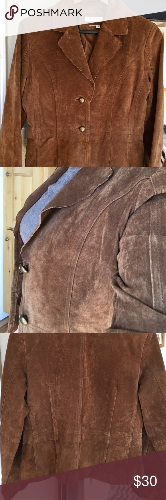 LEATHER COLDWATER CREEK JACKET LEATHER COLDWATER CREEK JACKET Coldwater Creek Jackets & Coats