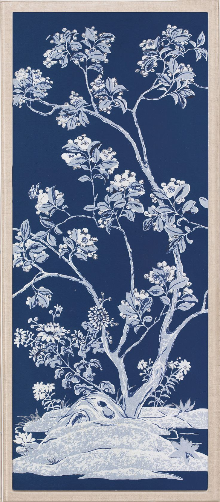 "Blue Tree Panels 3 | Natural Curiosities. ""Repinned by Keva xo""."