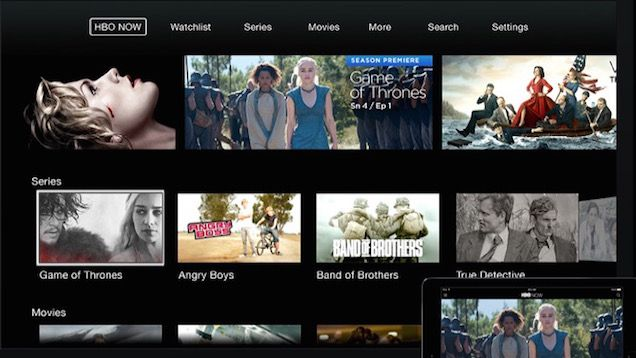 HBO Now, the cable-free streaming service HBO is developing for set top boxes, is now live. Currently, Apple has a reportedly three-month long exclusivity period for the Apple TV, and iOS apps, but you can also watch it through a web browser. If you sign up via an Apple device, you can get a 30-day free trial. Read more here.