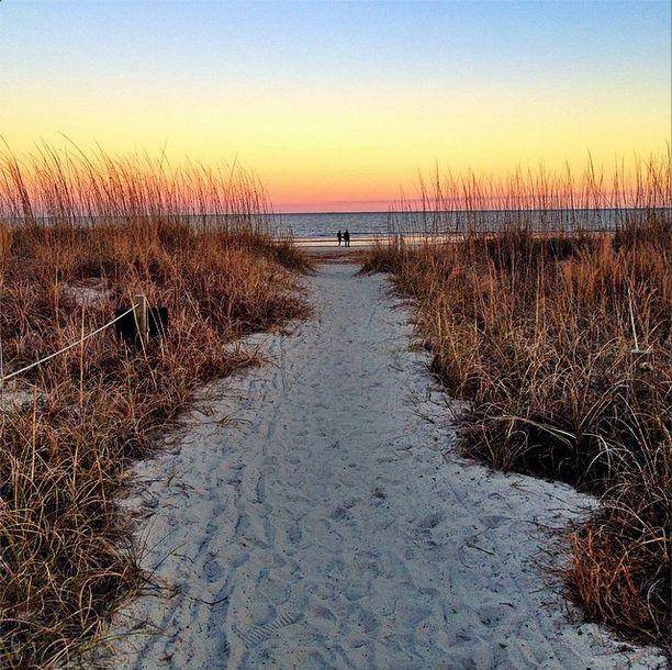 A slice of heaven in Hilton Head Island, South Carolina.