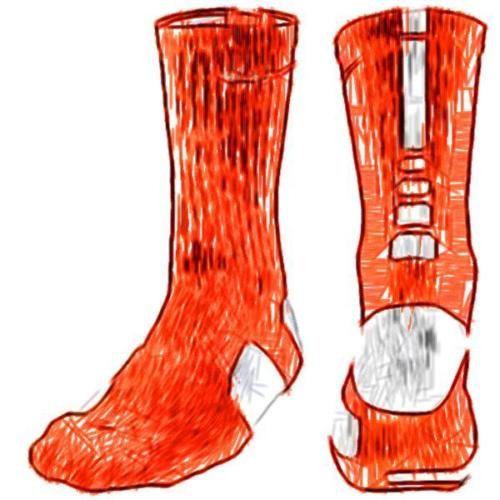 Nike elite #basketball accessories crew socks - men's #(team #orange/white),  View more on the LINK: http://www.zeppy.io/product/gb/2/131576826997/