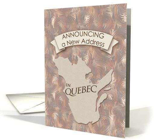 how to change the address for pr card of canada