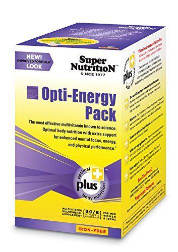SuperNutrition Opti-energy Pack Iron-Free Multivitamins, 30 Count - http://alternative-health.kindle-free-books.com/supernutrition-opti-energy-pack-iron-free-multivitamins-30-count/