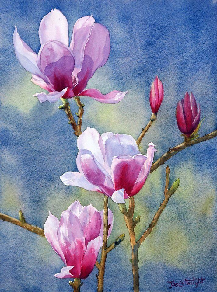Tutorial Art Artist Painting Paintingtutorial Paintingtips Artwork Watercolour In 2020 Watercolor Flowers Tutorial Flower Painting Watercolor Flowers