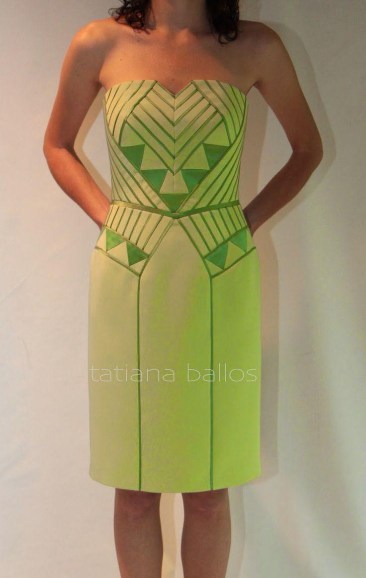 Tatianologia: Платье на корсетной основе.