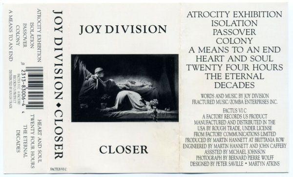 Peter Saville Joy Division Closer Google Search Joy Division