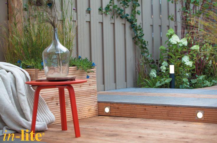 Sfeervol buitenleven | Tuinverlichting | Trap | Vlonder | Outdoor lighting | HYVE - PLATE | 12V | LED