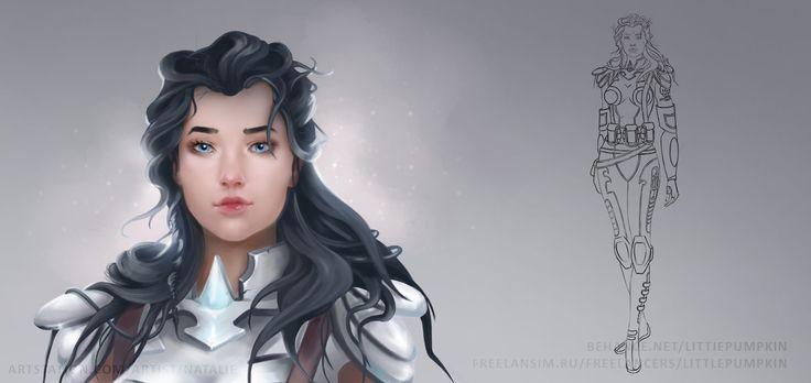 Soldier, Natalie Stratulat on ArtStation at https://www.artstation.com/artwork/soldier-25adfee8-56a1-4ba1-87ac-7f688fe2ce9a