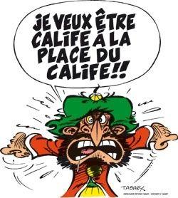 Iznogoud, héros de bande-dessinée création de Jean Tabary