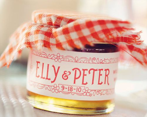 Edible Bomboniere Ideas. Are you having jam as your wedding bomboniere ...  theknot.com.au