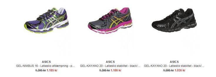 Asics løbesko, løbetræning