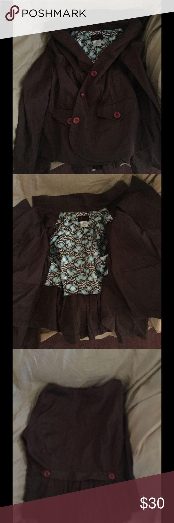 Torrid Brown blazer In good condition I've never wore it Jackets & Coats Blazers