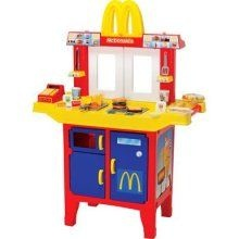 Mcdonald S Pretend Play Drive Thru Window Food Cart