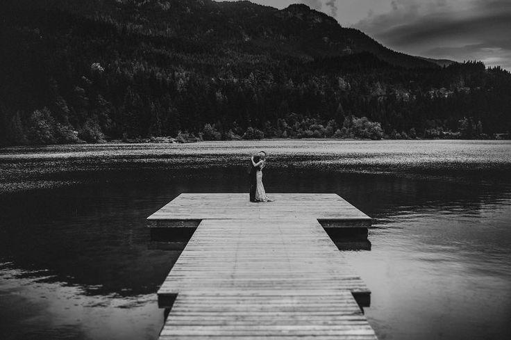 "240 gilla-markeringar, 5 kommentarer - Dani Rodriguez (@bringmesomewherenice) på Instagram: ""Whistler showing off.. Adrienne and Sam at the Wedding in British Columbia, Canada ..…"""