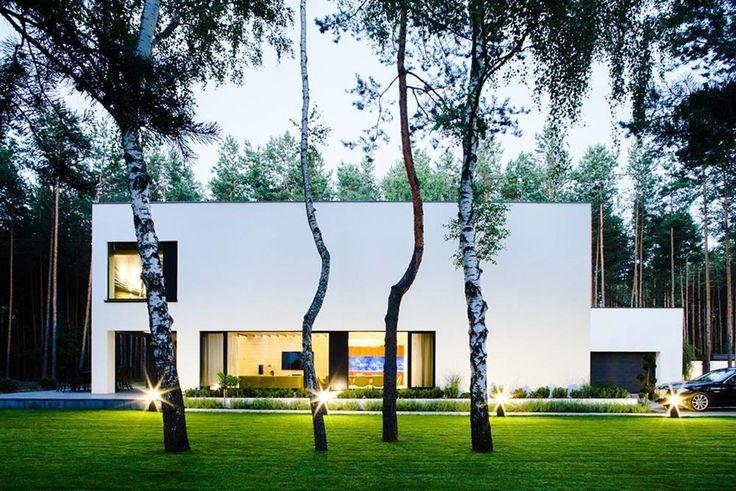 PA+U Rafal Mazur · House in a pine forest · Divisare