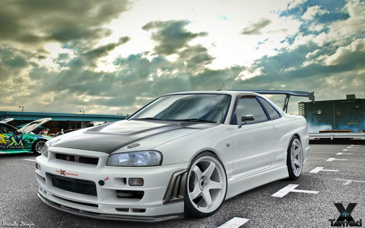 Nissan Skyline R34 GTR by MurilloDesign.deviantart.com on @DeviantArt