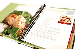 Websites that allow you to create and purchase custom cookbooks.