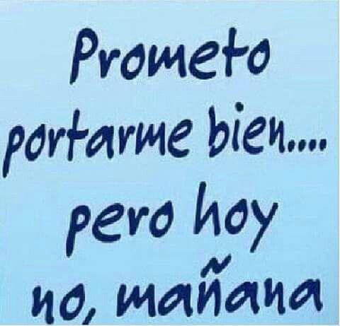 Lo prometo:)