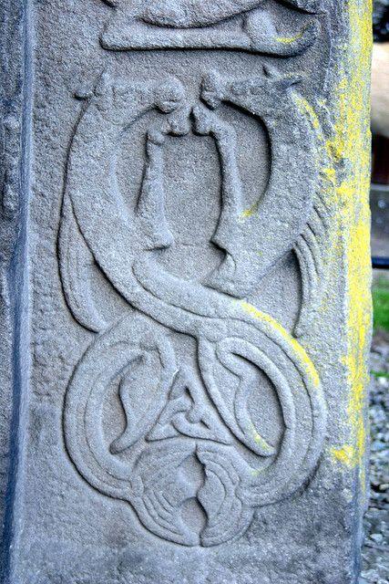 Aberlemno 11 Churchyard:Scotland Kelpie (Water Horses) http://en.wikipedia.org/wiki/Aberlemno_Sculptured_Stones