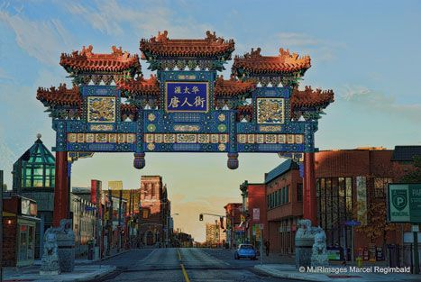 'Chinatown Gate II' by Marcel Regimbald. Creative Commons Attribution licence