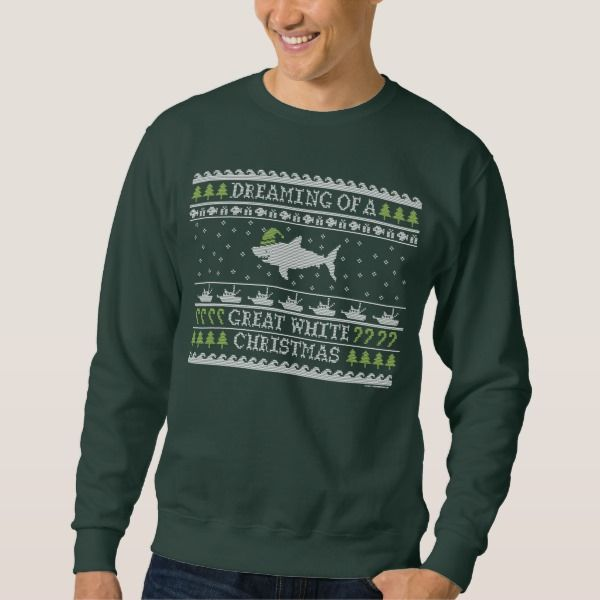 Original Great White Christmas Ugly Sweater in 2018 Stuff SOLD on