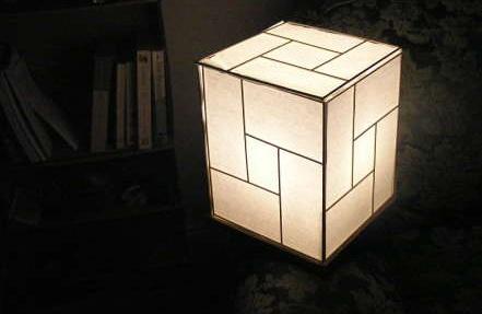 diy japanese lamp
