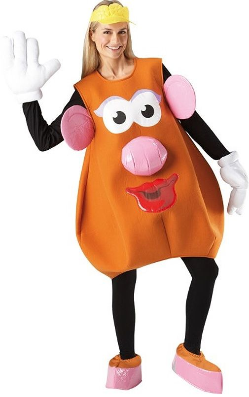 Licensed Ladies Mrs Potato Head Costume with fast delivery: Great deals on all Toy Story Costumes, Film Fancy Dress & Mr Potato Head Fancy Dress.