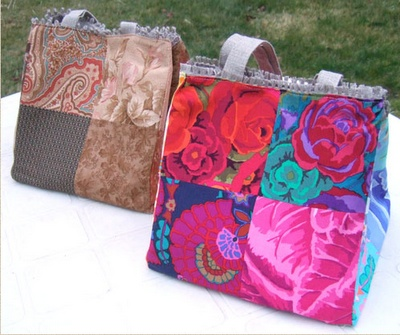 Criar com Tecidos: Bolsas de tecido: Deco Ideas, Fabric, Bag, By, Mores Bags, Bags