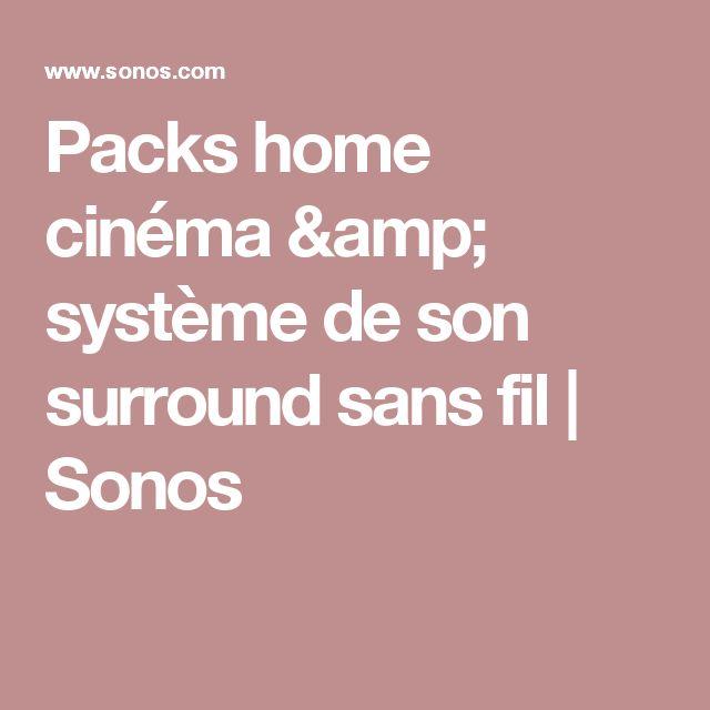 Packs home cinéma & système de son surround sans fil | Sonos