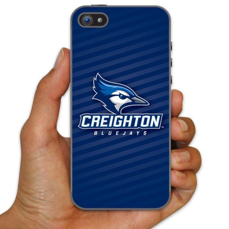 Creighton University Clear Plastic Slim Case for iPhone 5c - Creighton