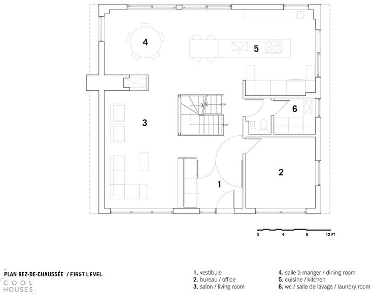 Резиденция Клоссе (Closse Residence) на месте дома с 50-летней историей