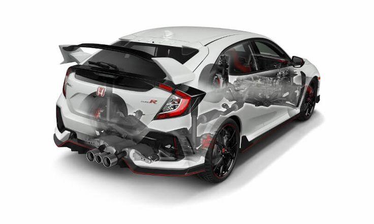 2017 Honda Civic Type R Turbo Detailed Engine, Suspension, Frame Review of Specs / Development / R&D - Hatchback CTR FK8