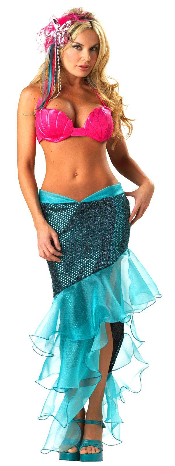 mermaid costume | Sexy Adult Premier Sea Goddess Mermaid Costume