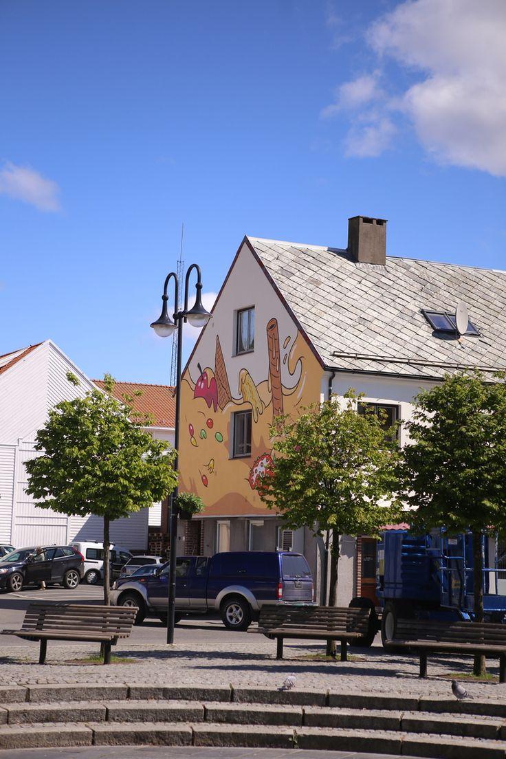 Artwork: Frode Skaren. Kan ses fra Øvre park. BUY THE ARTWORK