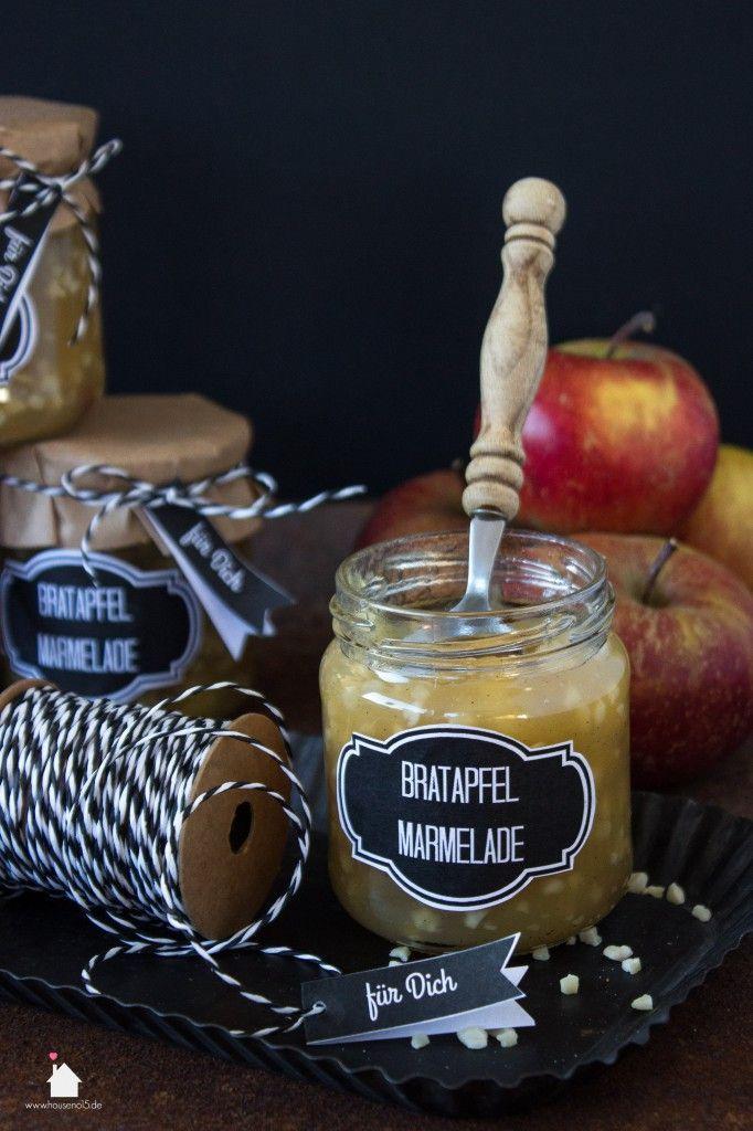 Bratapfel Marmelade 1