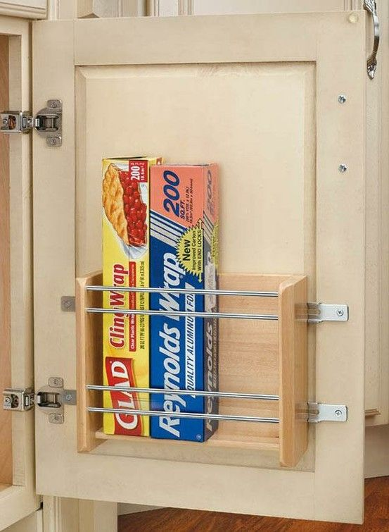 Repin Me - .: Good Ideas, Inside Cabinets, Cabinets Storage, Cabinets Organizations, Spaces Savers, Doors Mount, Kitchens Organizations, Drawers Spaces, Cabinets Doors