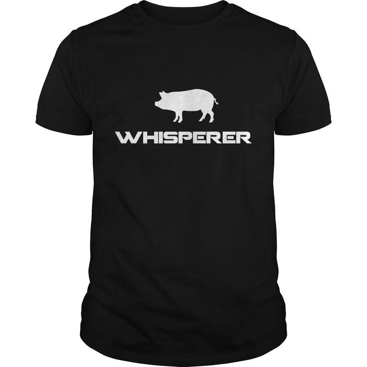 Pig Whisperer Cute Funny Farm Animal Best Gift : shirt quotesd, shirts with sayings, shirt diy, gift shirt ideas  #hoodie #ideas #image #photo #shirt #tshirt #sweatshirt #tee #gift #perfectgift #birthday #Christmas