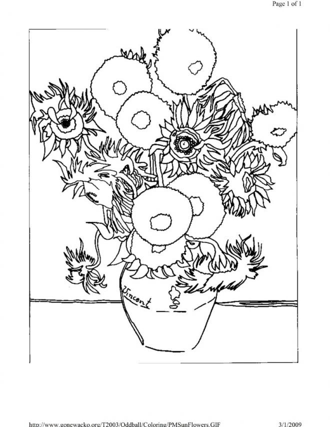 impressionism colouring pages