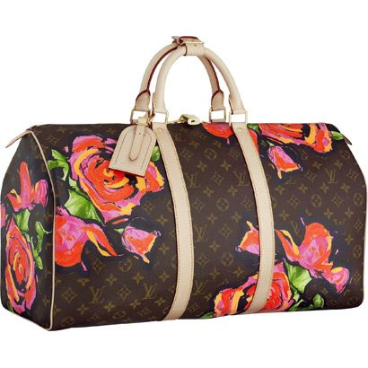 Louis Vuitton M48605 Stephen Sprouse Collection Keepall 50 Rosie $280.00