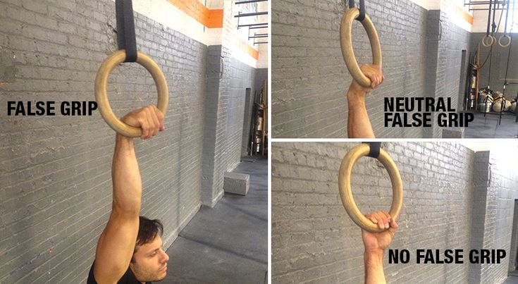 I get asked quite frequently whether or not it is correct to use a false grip on rings, especially when working muscle-ups. The simple answer is yes, but it req