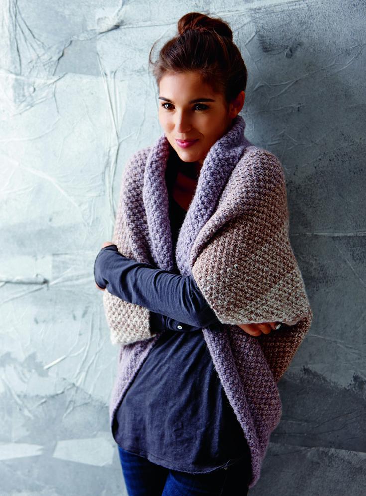 Seelenwärmer shrug by Tanja Steinberg, free knitting pattern